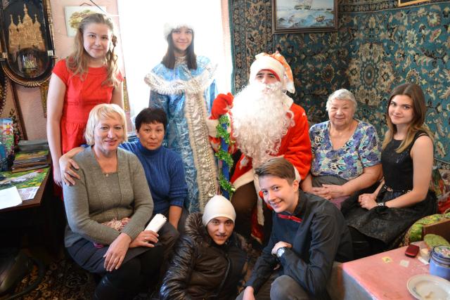 поздравление в доме престарелых с рождеством вкладыше
